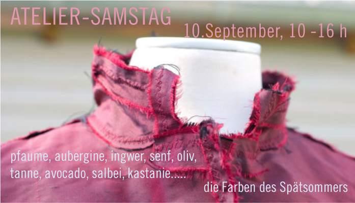 Atelier-Samstag am 10.09.2016 - Die Farben des Spätsommers