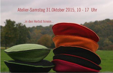 Atelier-Samstag am 31.10.2015