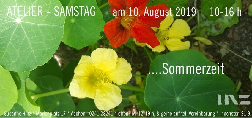 Atelier-Samstag am 10.08.2019 - Sommerzeit