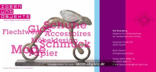 Ideen und Objekte 2017 - Rückseite