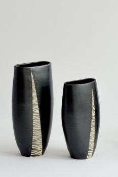 Ruth Stark - Vasen gedreht und verformt