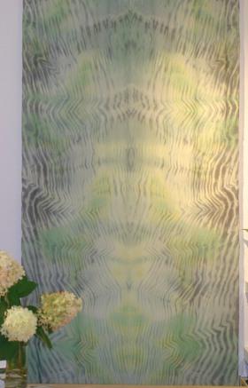 Atelier-Samstag vom 12.09.2015 - Shibori Wandbehang