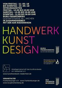 Handwerk-Kunst-Design 2018 in der Burg Frankenberg in Aachen