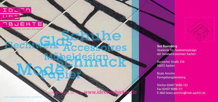 Ideen und Objekte 2018 - Rückseite