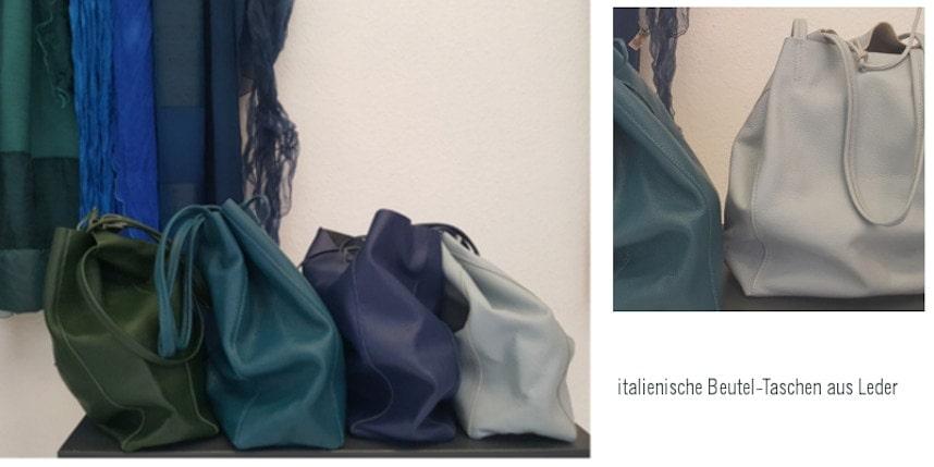 Atelier-Samstag am 21.09.19 - Neues für den Herbst, italienische Beutel-Taschen aus Leder