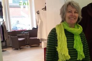Ein neuer Schal für Elke Buschmann