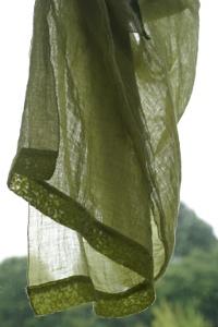 1000 und ein Schal - Leinenschal